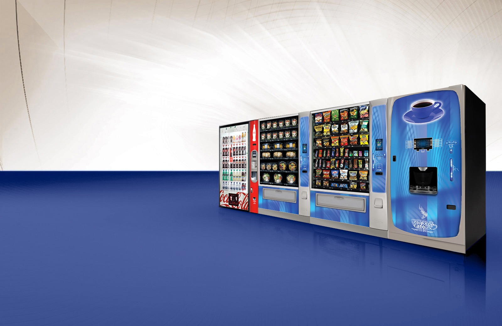 Vending machines in New York